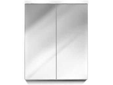 trendteam Spiegelschrank Mezzo /Weiß, Glas