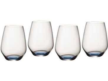 Villeroy & Boch Gläserset 4tlg. /Blau, Glas