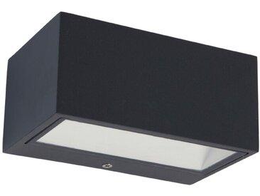 Eco-Light LED-Außenwandleuchte Gemini /Anthrazit, Alu, Eisen,