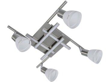 DesignLive LED-Deckenleuchte NECKAR, Alu, Eisen, Stahl & Metall