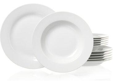 Ritzenhoff & Breker Tafelservice Bianco 12tlg., Porzellan