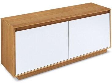 Voss Möbel Garderobenbank V100 /Weiß / Eiche, Holz