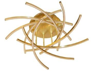 DesignLive LED-Deckenleuchte Pear /Gold, Alu, Eisen, Stahl &