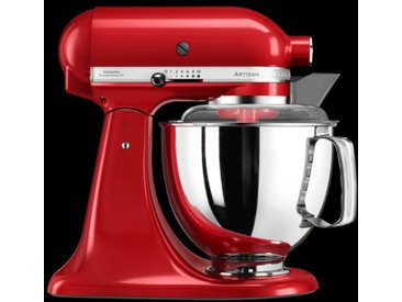 KitchenAid Küchenmaschine Artisan 4,8l, Empire Rot 8tlg. /Rot,