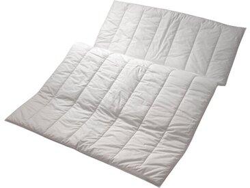 Centa-Star Faserbettdecke Famous 200 x cm /Weiß, Baumwolle