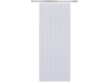 Fertiggardine Vera 245 x 450 cm /Weiß, Polyester