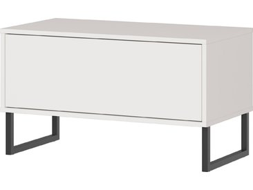 Germania Garderobenbank Madeo /Grau, Kunststoff