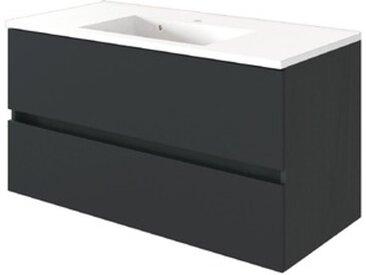 Held-Möbel Waschtisch Baabe /Graphit, 100 cm
