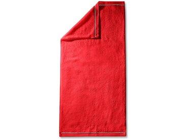Esprit Gästetuch Solid 30 x 50 cm /Rot, Mischgewebe