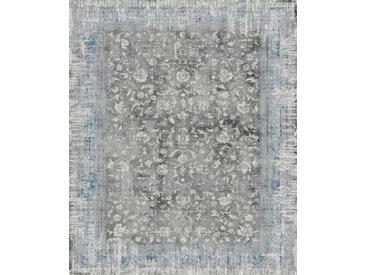 Vintage Teppich Juwel 120 x 170 cm /Grau, Mischgewebe