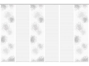 Schmidt Schiebewand Spotti 6er-Set /Grau, Polyester