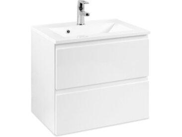 Held-Möbel Waschbeckenunterschrank Cardiff /Weiß, Lack /