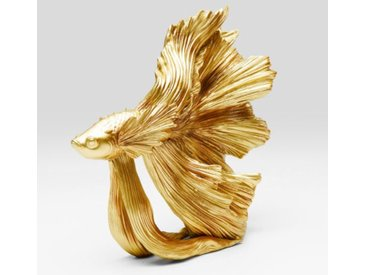 KARE Deko-Figur Betta Fish 68023 /Gold, Kunststoff
