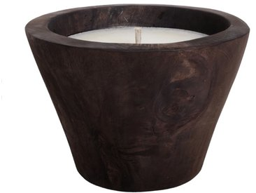Outdoor-Kerze Aniston, Hartholz, Ø30cm, 30 cm Holz