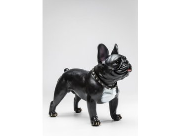 KARE Deko-Figur Gangster Dog 38091 /Schwarz, Kunststoff