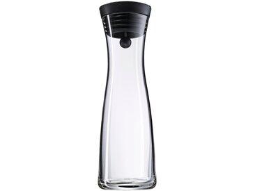 WMF Karaffe Basic schwarz 1000 ml /Transparent, 1 l Glas