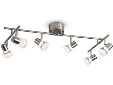 DesignLive LED-Strahler, Chrom, Alu, Nickel, Stahl