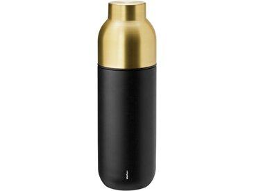 Stelton Thermoflasche Collar 750 ml /Schwarz, 26 cm Edelstahl