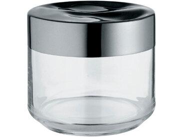 Alessi Küchendose Julieta 500 ml /Silber, 9,5 cm Glas