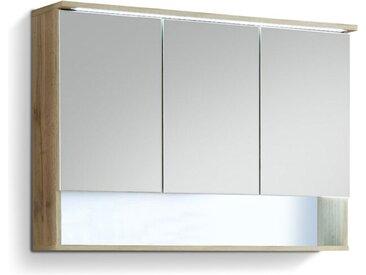 Spiegelschrank Best /Wildeiche, Holzoptik