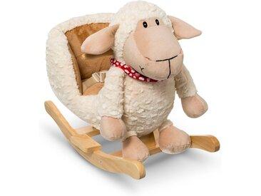 Schaukeltier Schaf /Weiß, Stoff