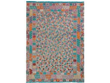 Kelim Teppich Kaudani 218 x 293 cm /Bunt, Schurwolle