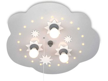 Elobra Kinderlampe Sternenwolke /Silber, Holz