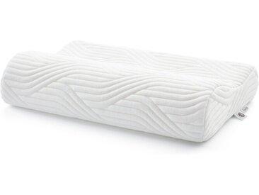 TEMPUR Nackenkissen Shape M 50 x 31 cm /Weiß, (Medium) Polyester