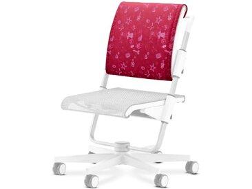 Moll Rückenkissen Scooter /Rot / Rosa, Stoff