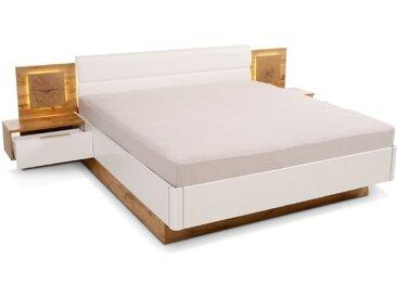 Pol Power Bett mit Nachttischen Capri 180 x 200 cm /Eiche,