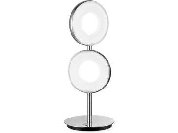JOOP! LED-Tischleuchte Circle /Chrom, Alu, Eisen, Stahl & Metall