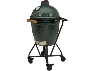 Big Green Egg Holzkohlegrill Set /Grün, L (Large) Keramik