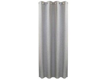 Ösenschal Pia 140 x 245 cm /Silber, Polyester