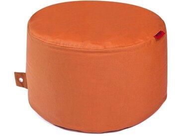 Outbag Sitzsack Hocker Rock Plus orange /Orange, Stoff