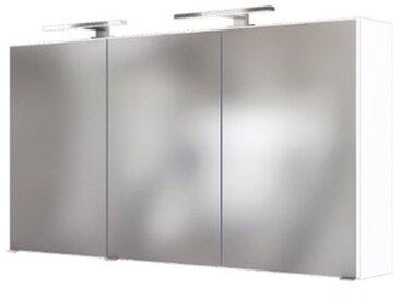 Held-Möbel Spiegelschrank Baabe /Weiß, 120 cm