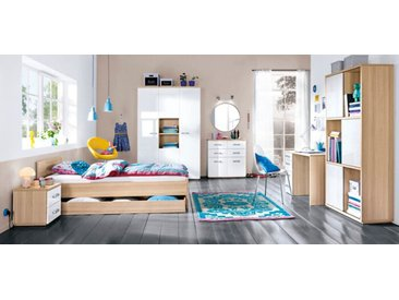 Composad Kinderzimmer-Set Calisma 4-tlg. /Weiß, 90 x 200 cm