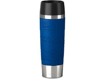 emsa Isolierbecher Travel Mug /Blau, Edelstahl