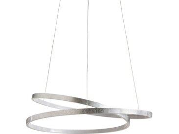 Paul Neuhaus LED-Pendelleuchte Roman /Silber, Alu, Eisen, Stahl &