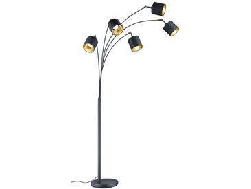 Reality Leuchten Stehlampe Tommy /Schwarz, Stoff
