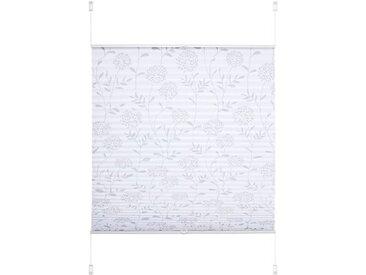 Liedeco Klemmfix-Plissee 70 x 130 cm /Weiß, Polyester