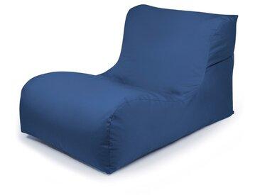 Outbag Sitzsack New Lounge Plus, blau /Blau, Stoff