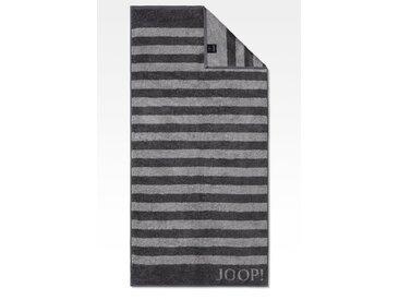 JOOP! Duschtuch Classic Stripes 80x150 cm /Anthrazit, 80 x 150