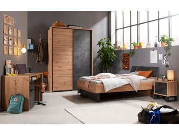 Composad Kinderzimmer-Set La Fabrica 5tlg. /Eiche, Holz