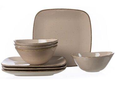 Ritzenhoff & Breker Tafelservice Casa grau 8tlg. /Grau, Keramik
