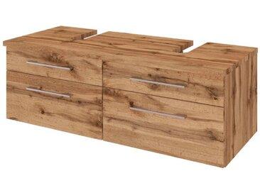 Held-Möbel Waschtischunterschrank Davos /Eiche, Holzoptik