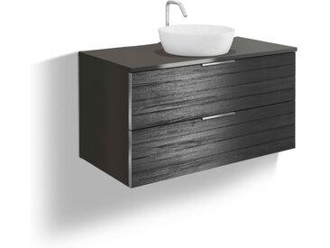 Waschtisch-Set Khalix /Dunkelgrau