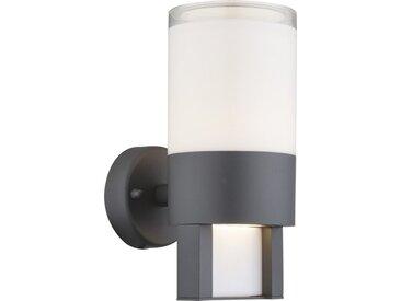 Globo LED-Außenwandleuchte Nexa, Aluminium