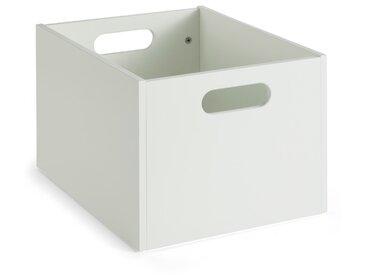 Portobello Aufbewahrungsbox Calla /Weiß, Lack / Hochglanz