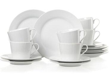 Ritzenhoff & Breker Kaffeeservice Bianco 18tlg., Porzellan