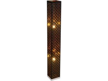 Globo Stehlampe Clarke /Gold, Stoff